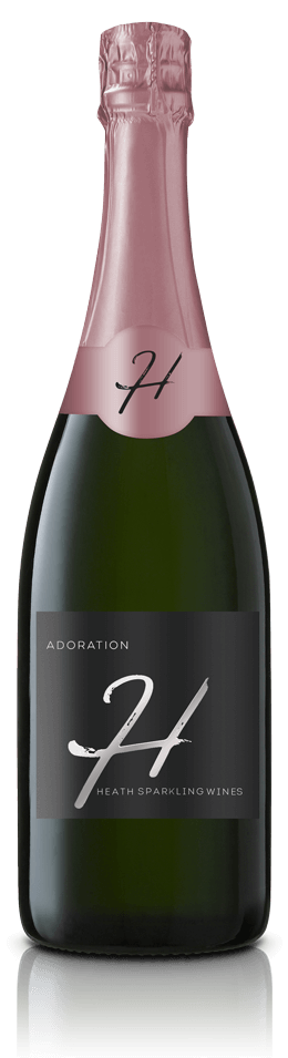 Adoration Wine Bottle