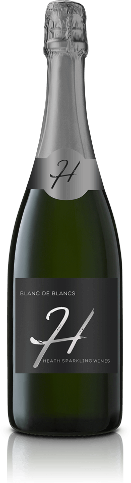 Blanc De Blancs Wine Bottle
